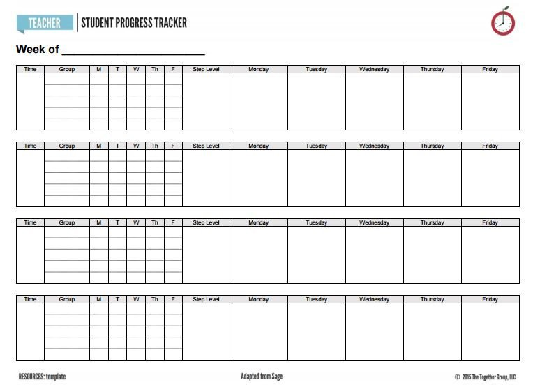 Tracking Student Progress Template Inside Sage S Clipboard A Super Duper Student Tracker