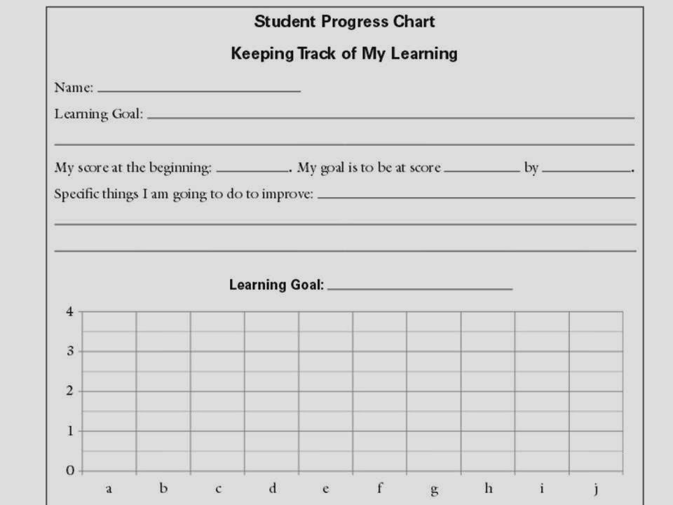 Tracking Student Progress Template Platte River Elementary Knights