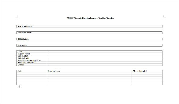 Tracking Student Progress Template Progress Tracking Template – 11 Free Word Excel Pdf