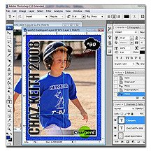 Trading Card Template Photoshop 12 topps Baseball Card Template Shop Psd