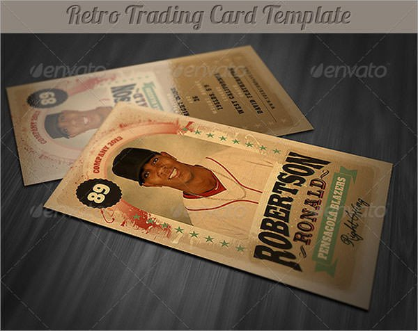 Trading Card Template Photoshop 7 Sample Trading Card Templates