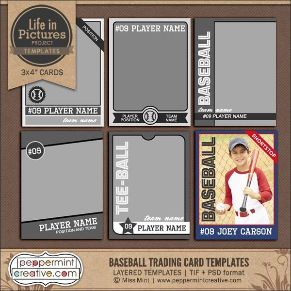 Trading Card Template Photoshop Best 25 Trading Card Template Ideas On Pinterest