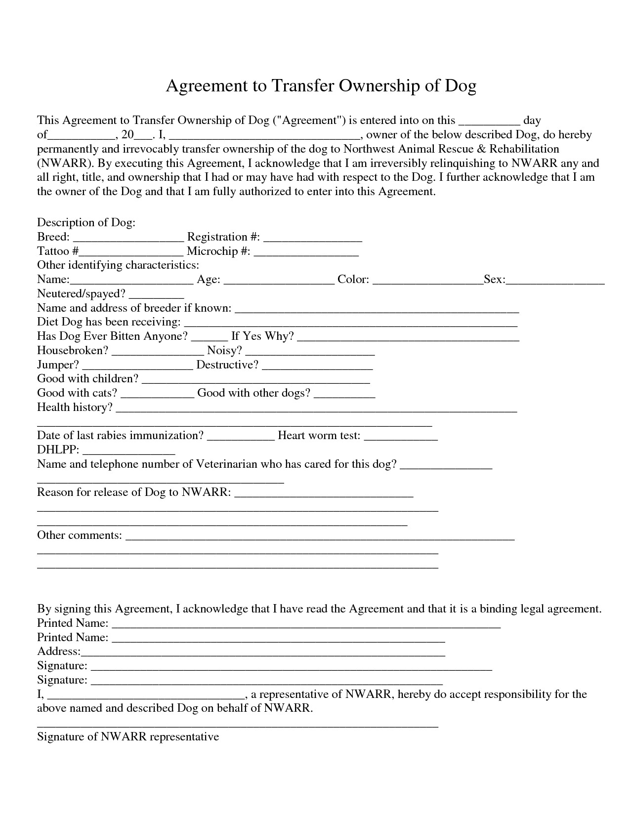 Transfer Of Ownership Agreement Transfer Business Ownership Agreement
