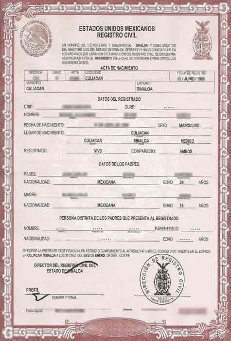 Translation Of Divorce Certificate Template Birth Certificate Translation Services for Uscis Fast and