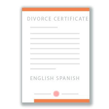 Translation Of Divorce Certificate Template Divorce Certificate Translation Services Uscis