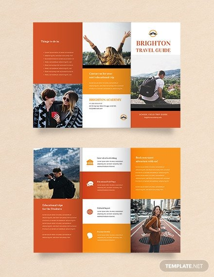 Travel Brochure Template for Students Free Japan Travel Brochure Template Download 281