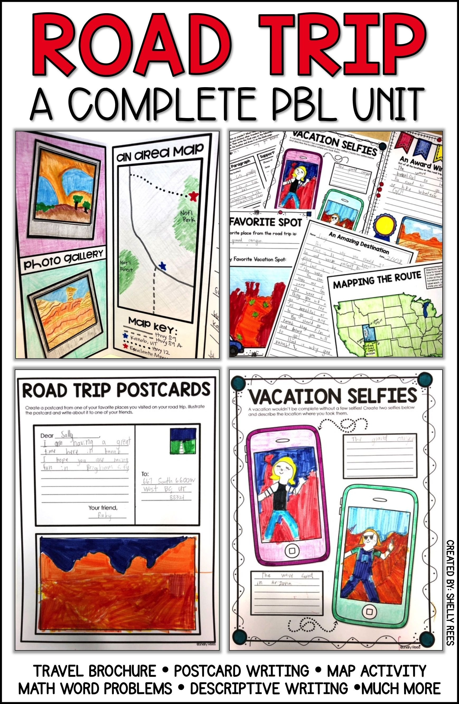 Travel Brochure Template for Students Pbl Project Road Trip Project Project Based Learning End