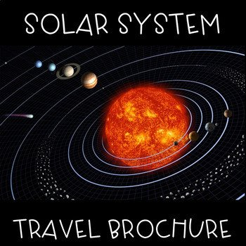 Travel Brochure Template for Students solar System Travel Brochure by Emma Caudill