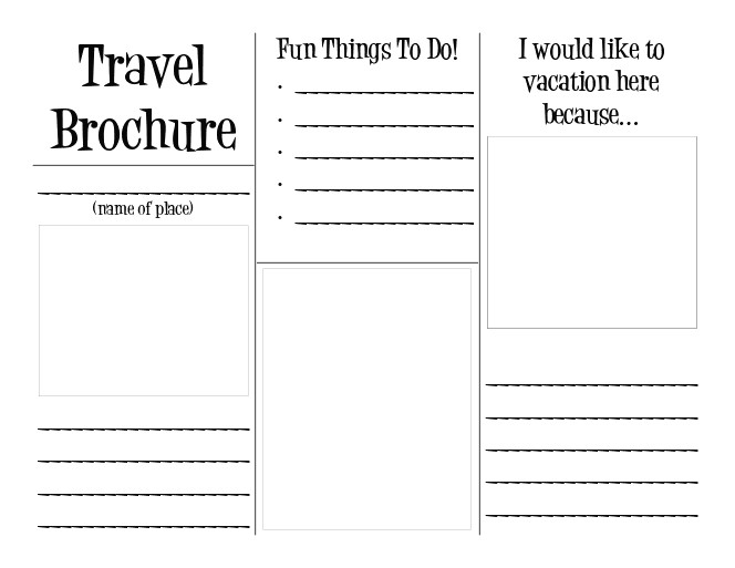 Travel Brochure Template for Students Step 6 Sitem