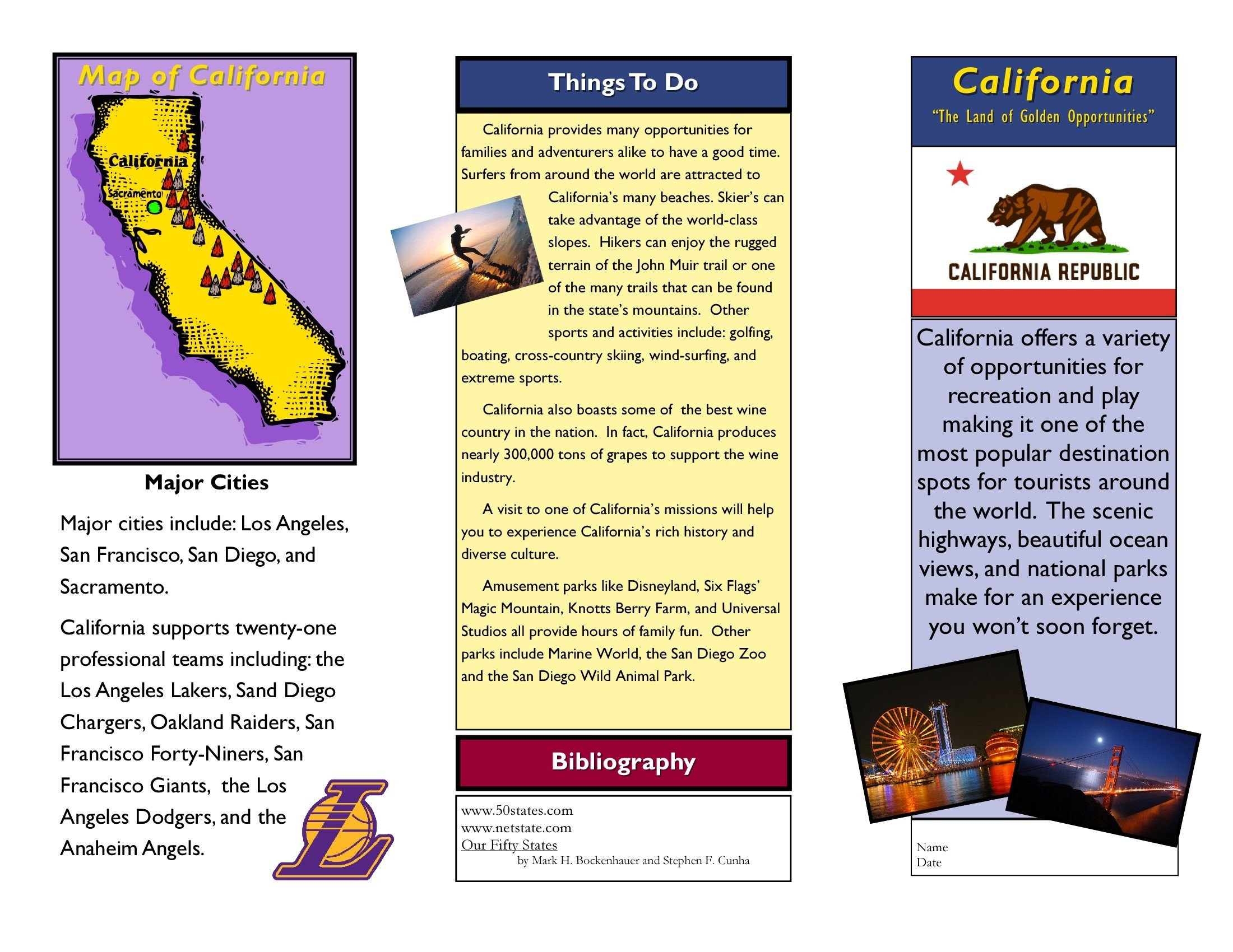 Travel Brochure Template for Students Travel Brochure Examples for Students