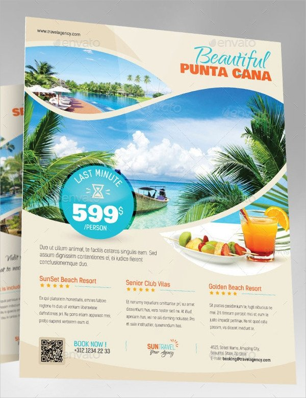 Travel Flyer Template Free 38 attractive Travel Flyer Templates & Creatives Word