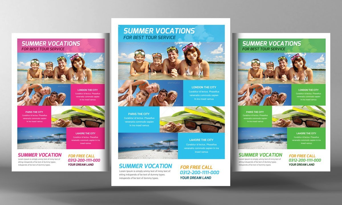 Travel Flyer Template Free tour Travel Flyer Template Flyer Templates Creative Market
