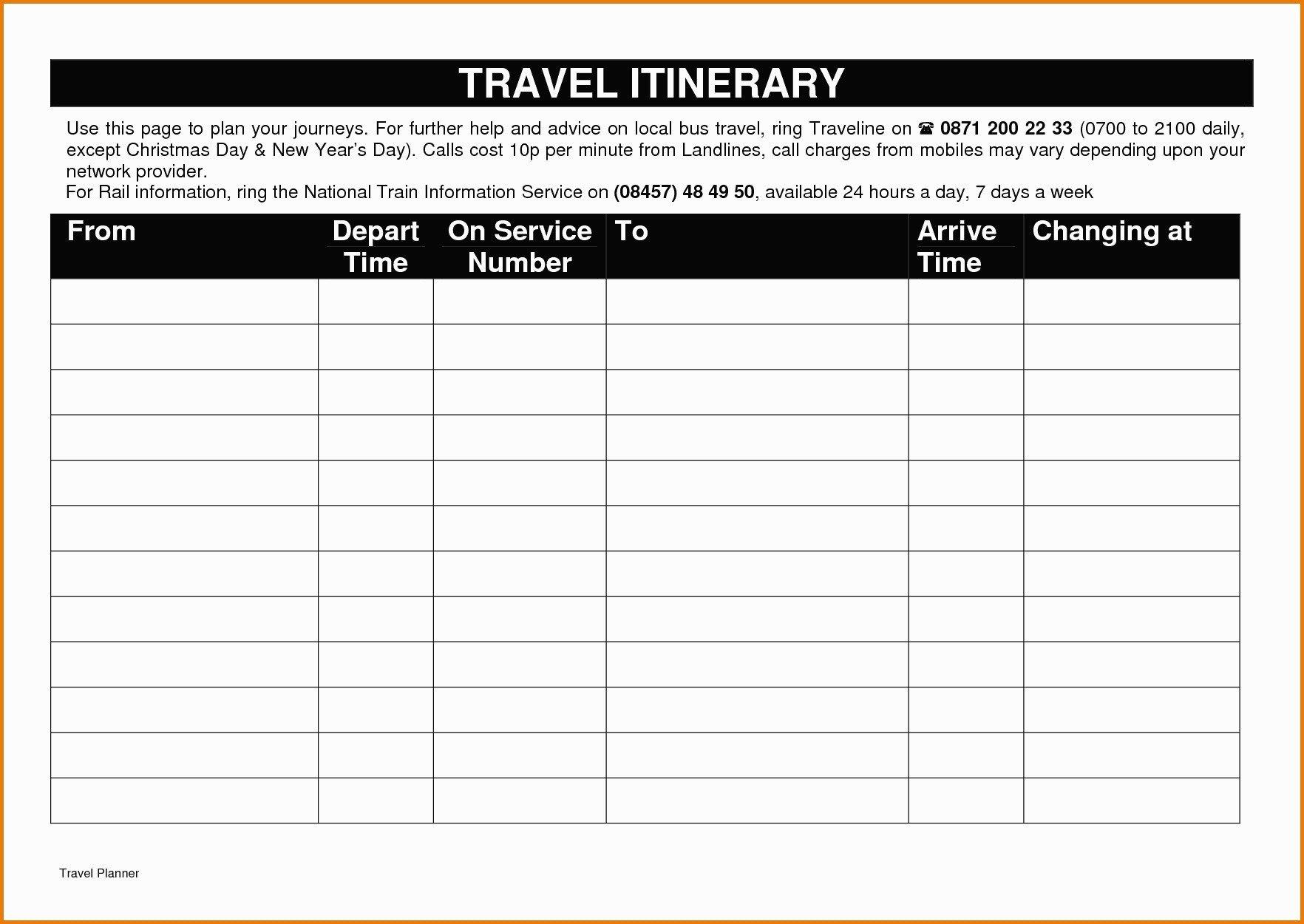 Travel Itinerary Template Google Docs Itinerary Template Google Docs Five Things Nobody told You