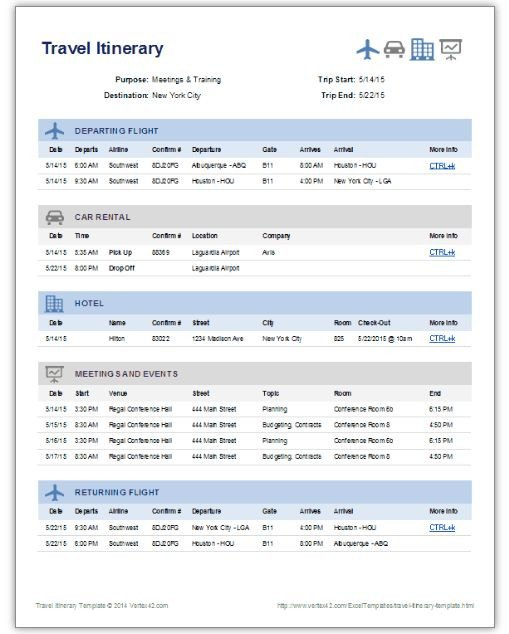 Travel Itinerary Template Google Docs Travel Itinerary Template Google Docs