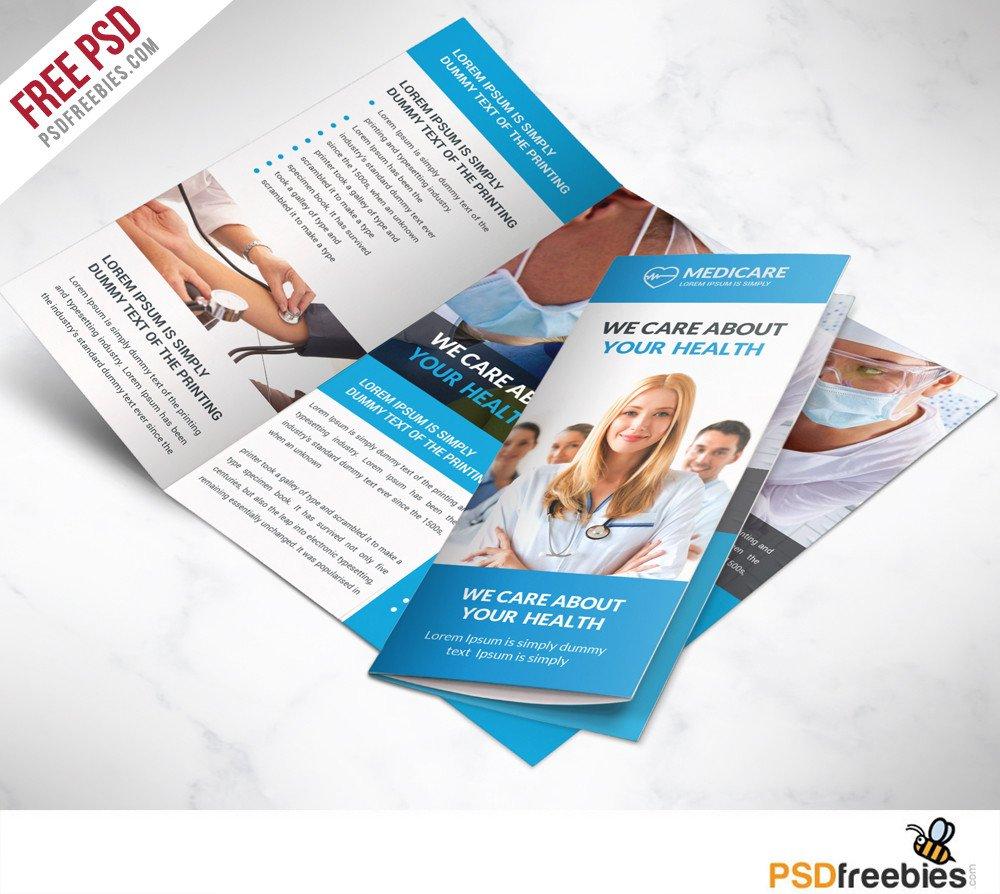 Tri Fold Brochure Template Free 16 Tri Fold Brochure Free Psd Templates Grab Edit & Print