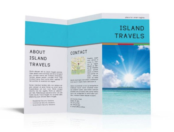 Tri Fold Brochure Template Free 40 Print Ready Brochure Templates