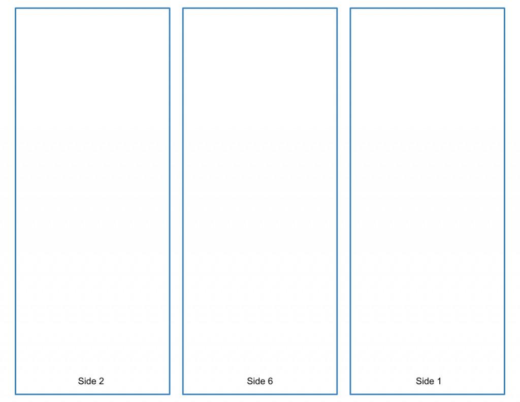 Tri Fold Brochure Template Free Blank Tri Fold Brochure Template Google Slides Free Download