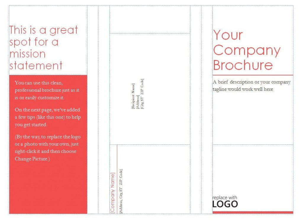 Tri Fold Brochure Template Free Patible with Avery Tri Fold Brochure Template