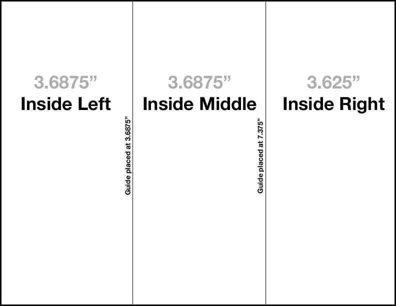 Tri Fold Brochure Template Free Tri Fold Brochure Template Free