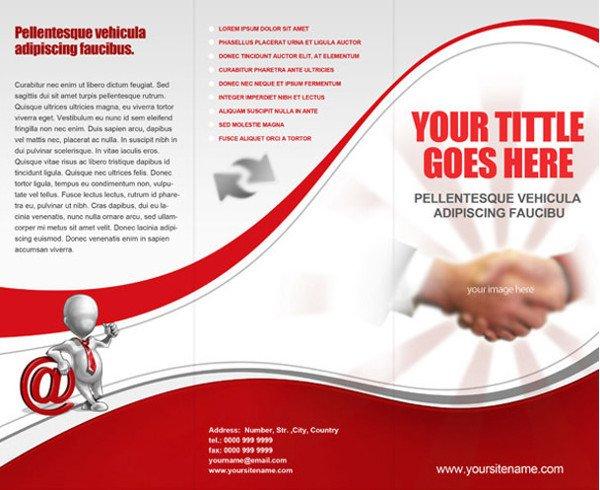 Tri Fold Brochure Template Free Tri Fold Brochure Templates 44 Free Word Pdf Psd Eps