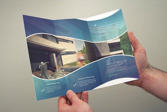 Tri Fold Brochure Template Free Tri Fold Brochure Templates 56 Free Psd Ai Vector Eps
