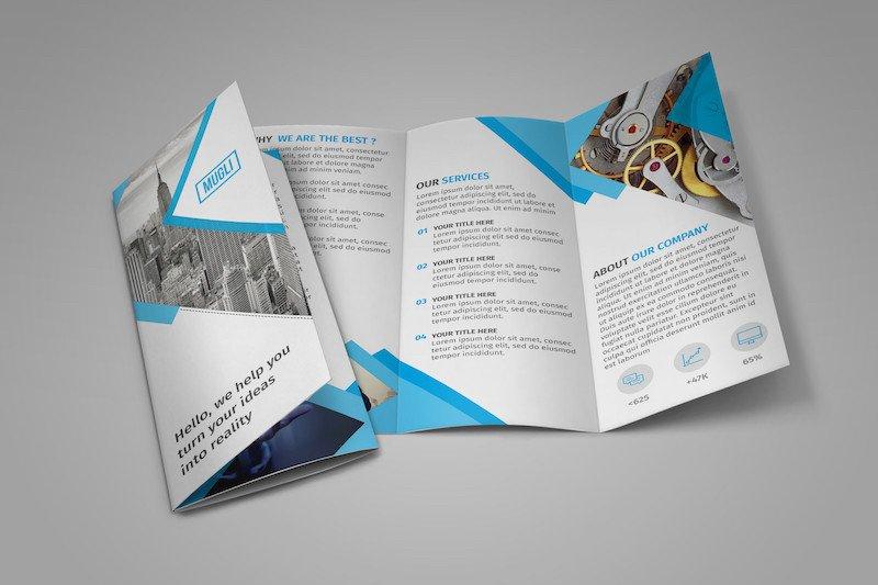 Tri Fold Brochure Template Illustrator 25 Tri Fold Brochure Templates Psd Ai & Indd Free