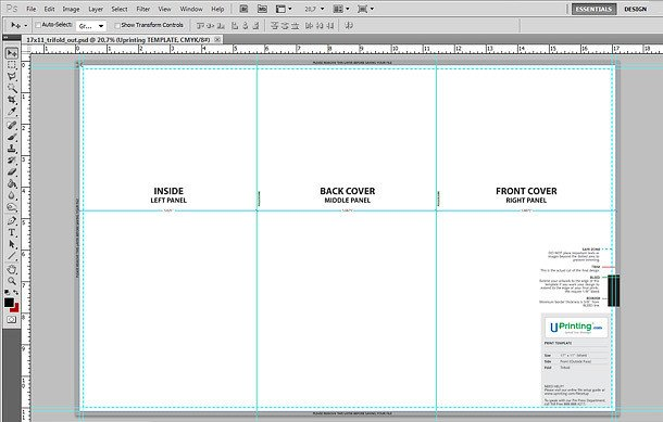 Tri Fold Brochure Template Illustrator A4 Tri Fold Brochure Template Illustrator Templates