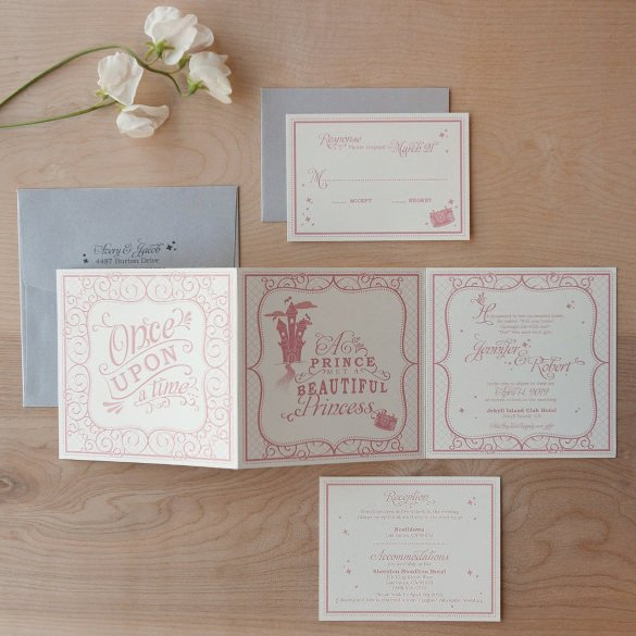 Tri Fold Invitation Templates 12 Tri Fold Wedding Invitation Templates Psd