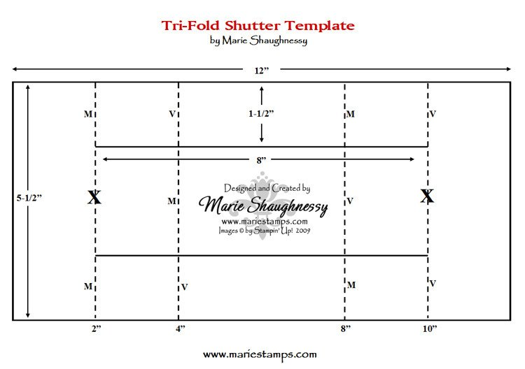 Tri Fold Invitations Template Stamping Inspiration Fun & Fancy Folds 1 Tri Fold