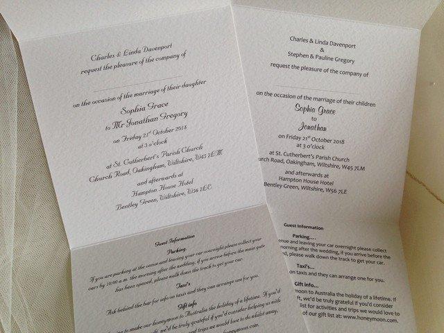 Tri Fold Wedding Invitations Tri Fold Wedding Invitations Affordable Wedding