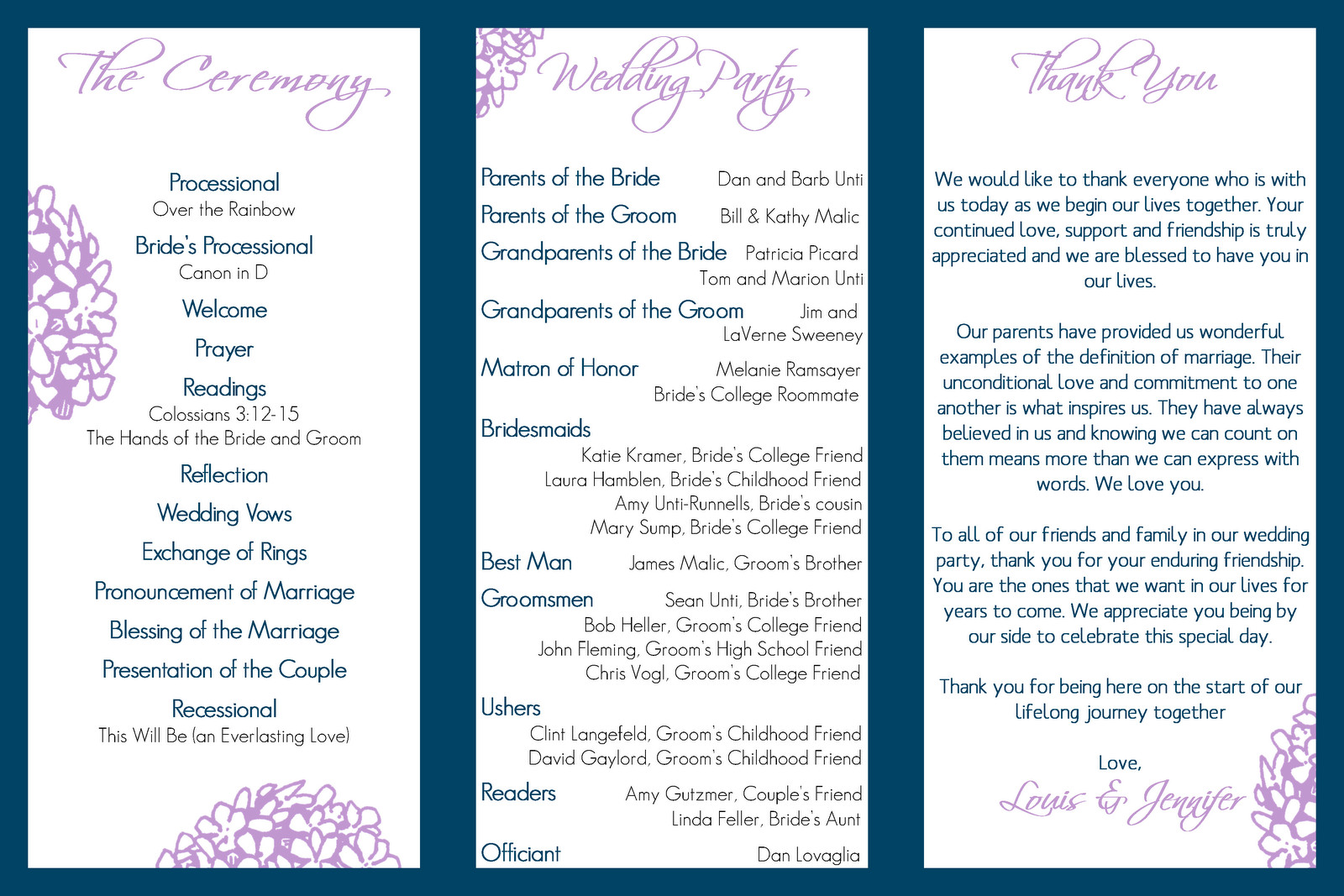 Tri Fold Wedding Program Template Wedding Design Gallery Category Page 53 Designtos