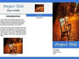 Trifold Template Google Docs Tri Fold Brochure Template for Google Docs by Ltgunkel