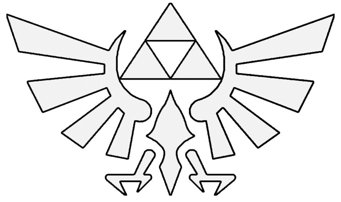 Triforce Pumpkin Stencil Legend Of Zelda Shoes Ftw
