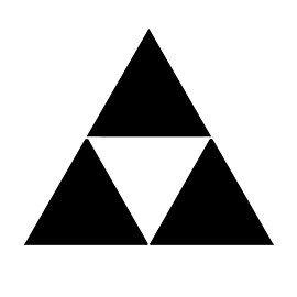 Triforce Pumpkin Stencil Legend Of Zelda Triforce Symbol Stencil
