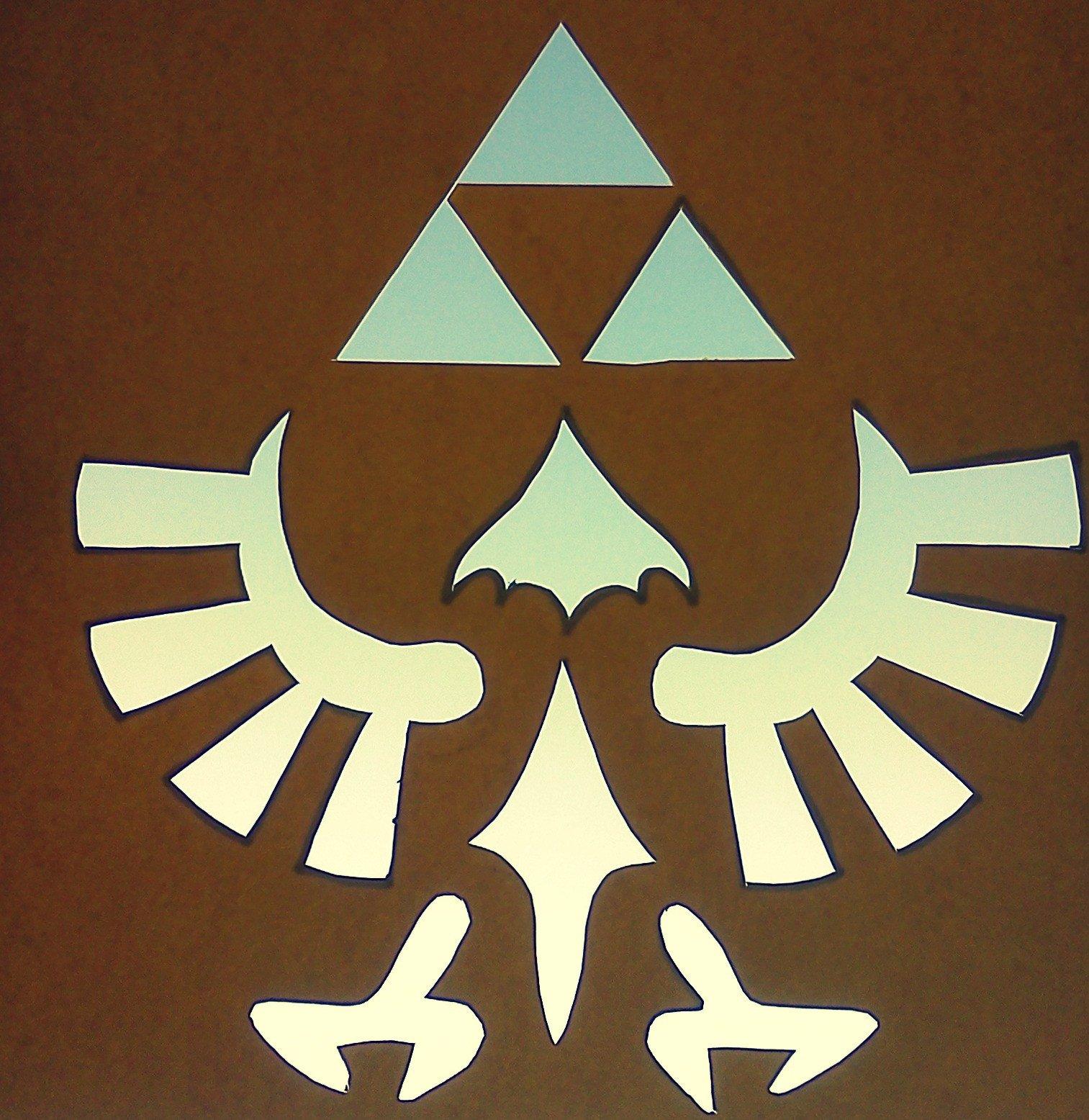 Triforce Pumpkin Stencil Meganmakescute Power Wisdom Courage