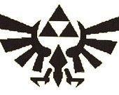 Triforce Pumpkin Stencil Stencils On Pinterest