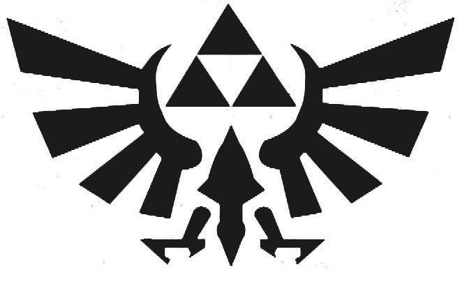 Triforce Pumpkin Stencil Triforce Stencil Favorite Logos and Brands
