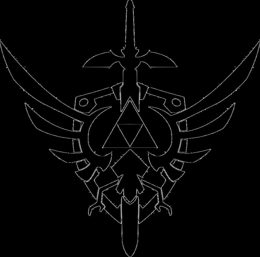 Triforce Pumpkin Stencil Triforce Tattoos Designs Ideas and Meaning