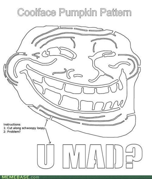 Troll Face Template [image ] Trollface Coolface Problem