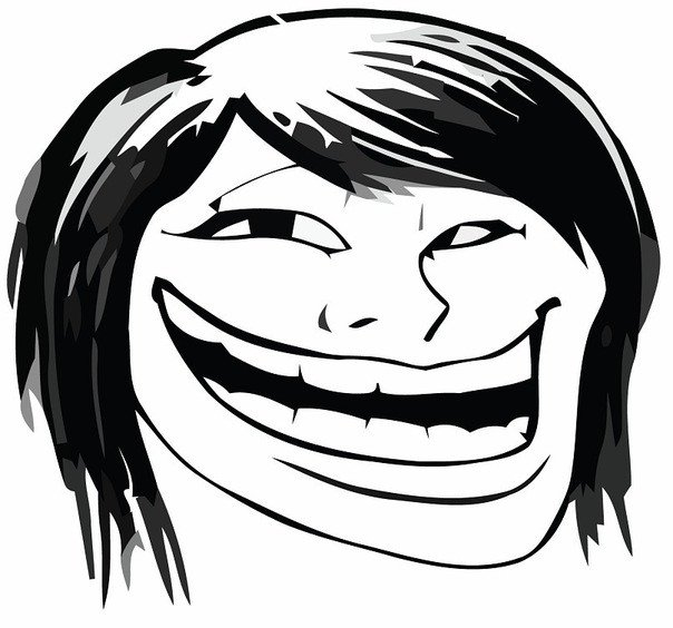 Troll Face Template Joyreactor Funny Pictures & Best Jokes Ics Images