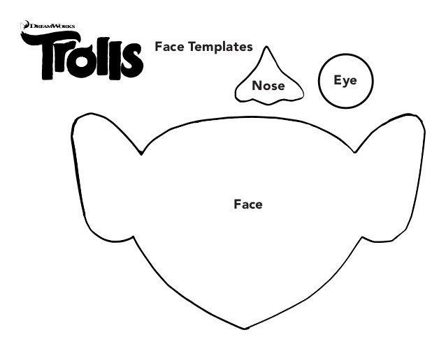 Troll Face Template Trolls Templates