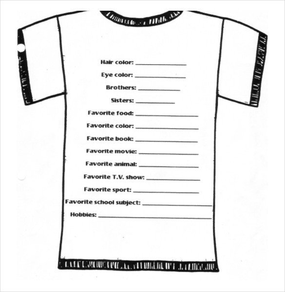 Tshirt order form Template 26 T Shirt order form Templates Pdf Doc