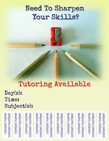 Tutoring Flyer Templates Free 140 Customizable Design Templates for Tutor