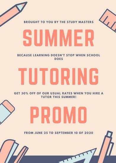 Tutoring Flyers Template Free Customize 455 Marketing Flyer Templates Online Canva