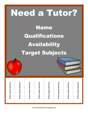 Tutoring Flyers Template Free Free Flyer Templates All sorts to Choose From This One