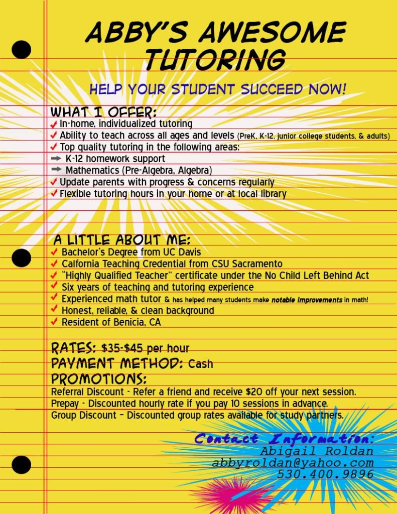 Tutoring Flyers Template Free Tutor Flyer Google Da Ara