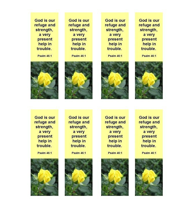 Two Sided Bookmark Template 50 Free Printable Bookmark Templates Template Lab