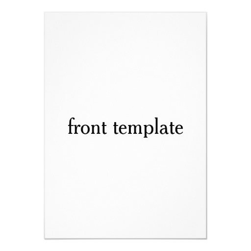 Two Sided Postcard Template Double Sided Template Card