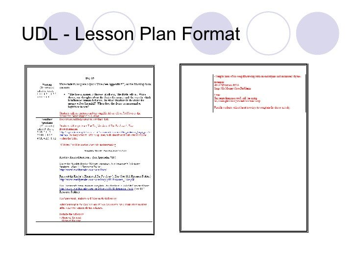 Udl Lesson Plan Template Udl Pardoners Tale Lesson