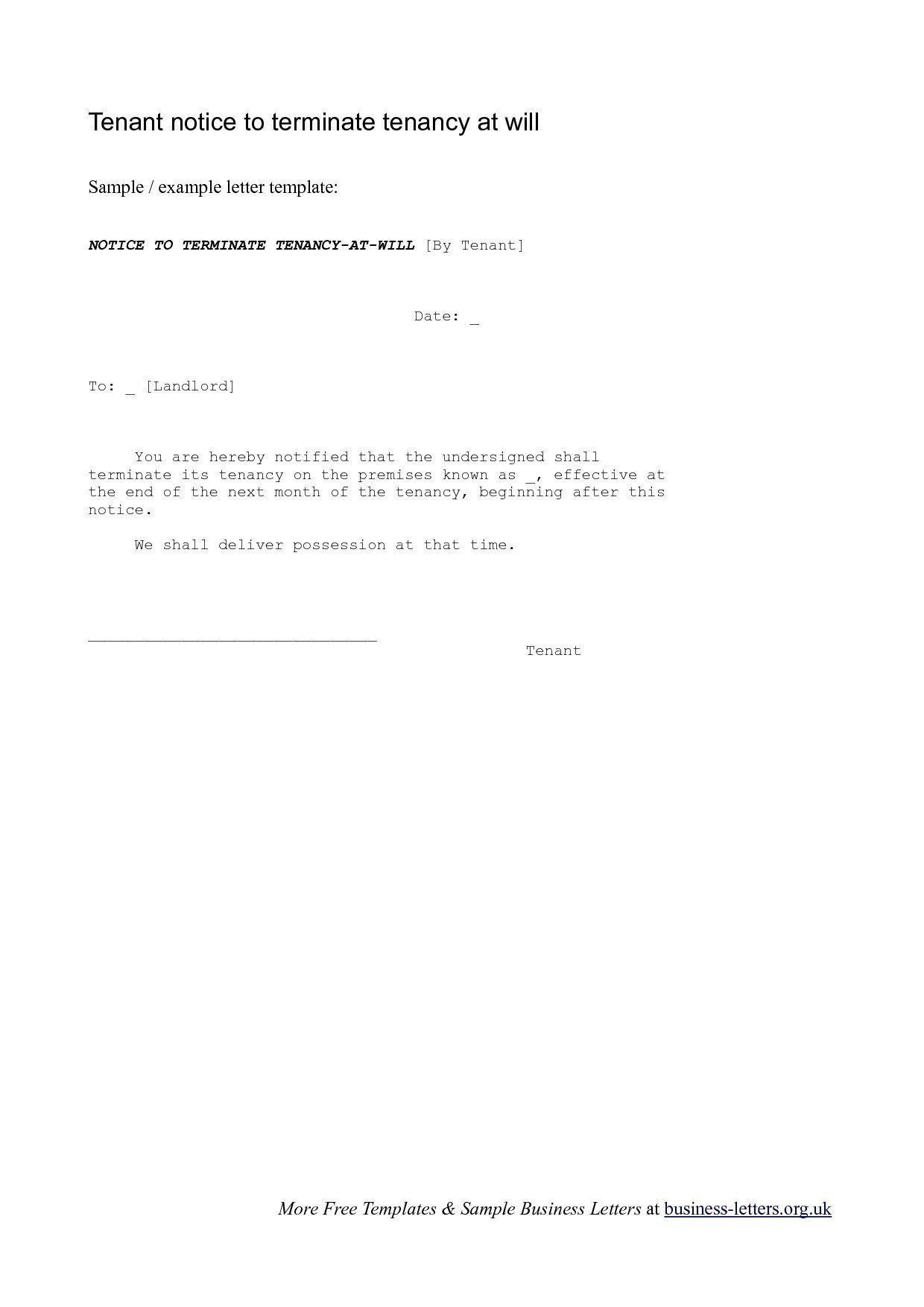 Unauthorized Tenant Letter Template Cash Out Refinance Letter Explanation Template